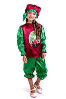 Детский Карнавальный костюм Редиска, костюм редиски, новогодний костюм редиска, костюмы овощей, дропшиппинг