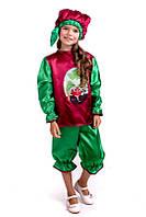 Детский Карнавальный костюм Редиска, костюм редиски, новогодний костюм редиска, костюмы овощей, дропшиппинг, фото 1