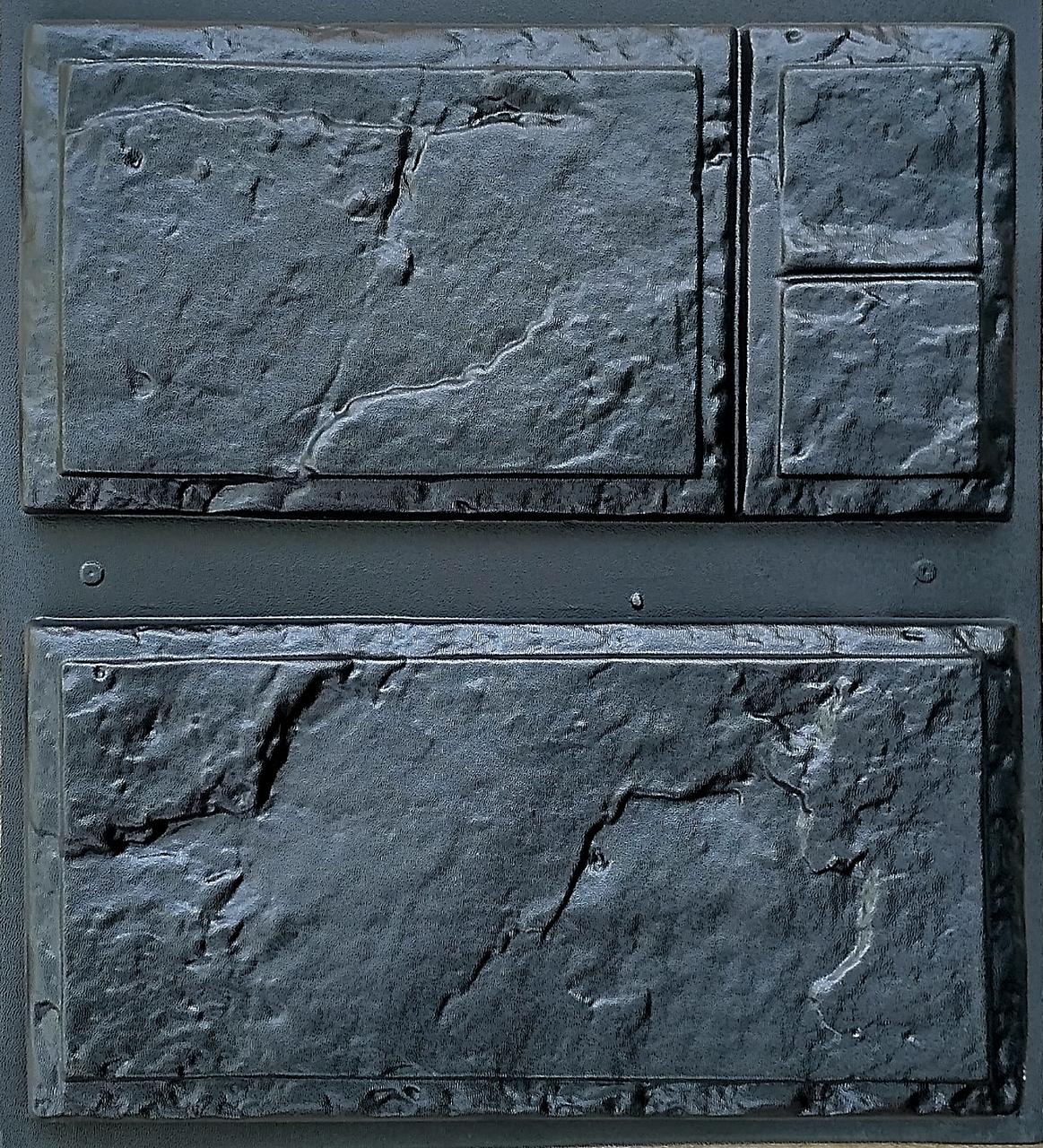 """Форма для декоративного камня и плитки """"Филенка"""" (6 плиток в комплекте)"""