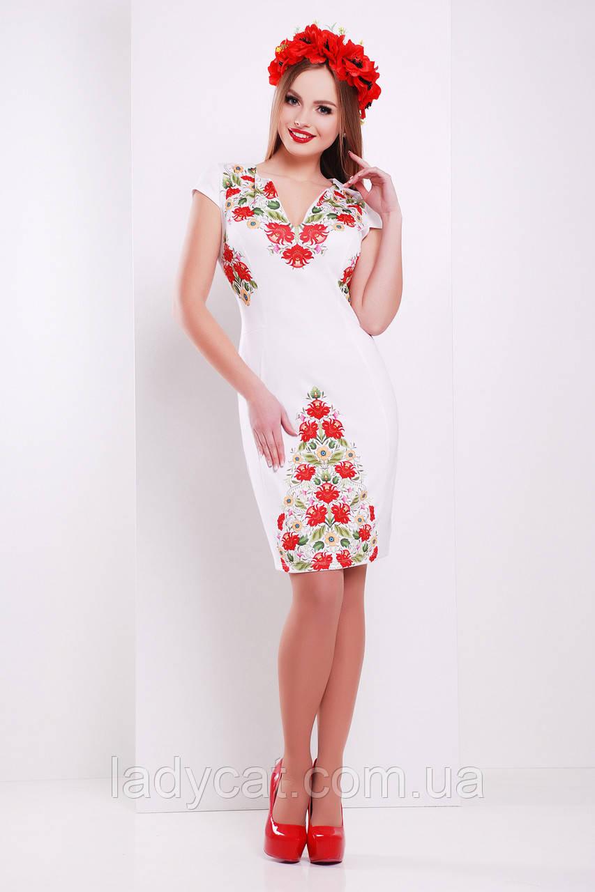 b8f806c95298449 Фольклор платье Аркадия б/р. ОПИСАНИЕ. Нарядное женское платье белого ...
