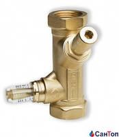 """Перепускной клапан WATTS SRV-IG (WattFlow BP) 2"""" ВР DN50 20-200 л/мин Kvs 18 с расходомером"""