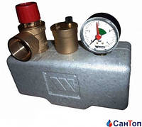 """Группа безопасности котла WATTS KSG 30/ISO 2 клапан SVH 1/2"""" (до 50 кВт)"""
