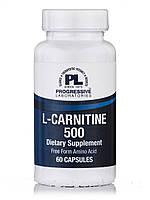 L-Carnitine 500, 60 Capsules, фото 1