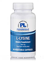 L-Lysine 500 mg, 90 Vegetable Capsules, фото 1