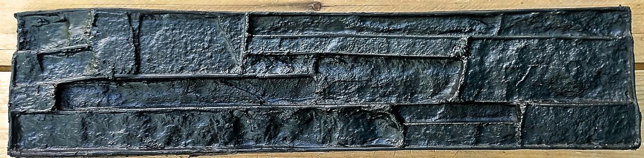 """Полиуретановый штамп для декоративного камня """"Нарезка"""" - Форм-Мастер. Магазин форм для декора в Запорожской области"""
