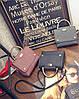 Стильная сумка с морщинками и ручкой, фото 3