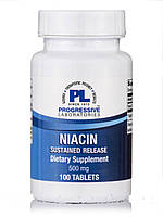 Niacin Sustained Release 500mg, 100 Tablets, фото 1