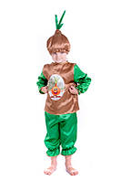 Детский карнавальный костюм Лук, костюм лука, новогодний костюм чиполлино, цибуля, фото 1