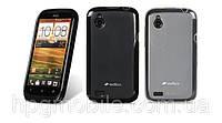 Чехол для HTC Desire V/X T328w/T328E - Melkco Poly Jacket TPU (пленка в комплекте)