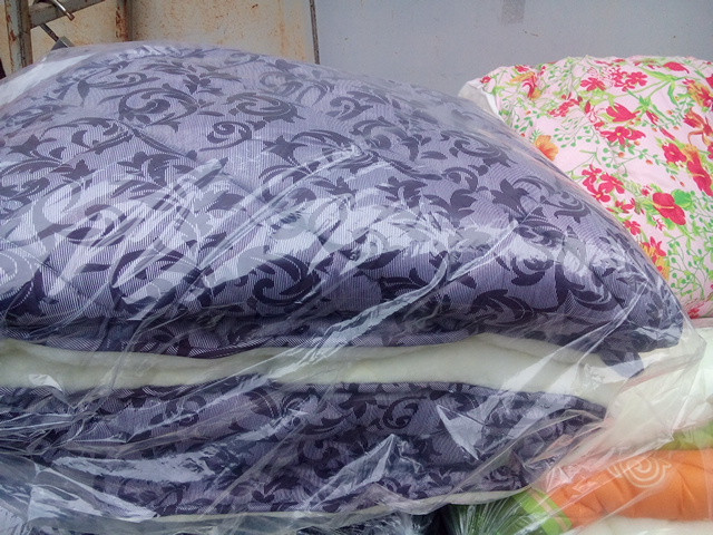 Зимнее одеяло на открытой овчине (двуспалка)