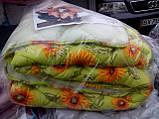 Зимнее одеяло на открытой овчине (двуспалка), фото 3