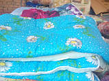 Зимнее тёплое одеяло овчина (полуторное), фото 2