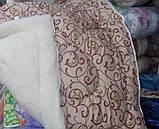 Зимнее одеяло на открытой овчине (двуспалка), фото 5