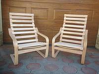 Кресло-качалка из бука
