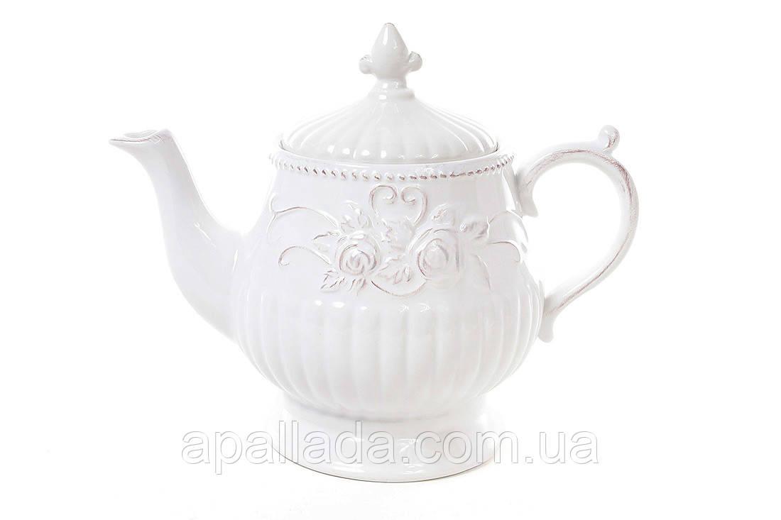 Чайник керамический Розы 1,3 л