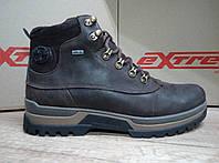 НОВИНКА!Стильные мужские ботинки из натурального нубука  EXTREME 1099 коричневые
