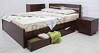 Кровать Лика Люкс с ящиками + плед