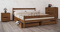 Кровать Лика с ящиками + плед