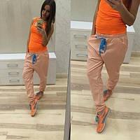 Женские спортивные штаны с мотней со шнурком