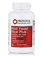 Red Yeast Rice Plus 600 mg, 90 Veg Capsules, фото 1
