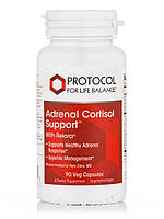 Adrenal Cortisol Support, 90 Veg Capsules, фото 1