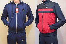 Мужские спортивные костюмы. Размерный ряд S-2XL, 3XL