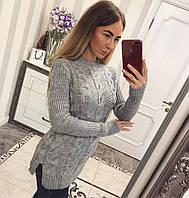 Удлиненный свитер-туника