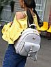 Нежный женский набор 4в1 для модных девушек Рюкзак, клатч, косметичка, визитница, фото 4