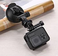 Крепление-присоска для камер GoPro,Xiaomi  и других экшен камер Suction Cup Mount, фото 1