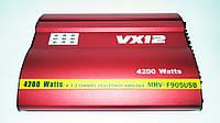 Автомобильный усилитель звука VX12 MRV-F905 4200 Вт