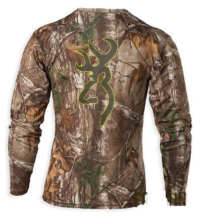 Футболка для охоты и рыбалки Browning Vapor Max Long Sleeve Shirt, фото 2