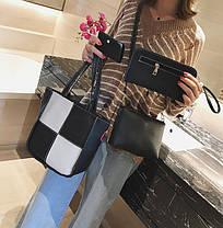 Элегантный набор женских сумок для модных девушек 4в1, фото 3