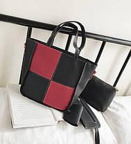 Элегантный набор женских сумок для модных девушек 4в1, фото 2
