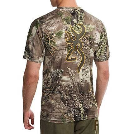 Футболка для охоты и рыбалки Browning Vapor Max Short Sleeve Shirt, фото 2