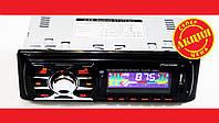 Автомагнітола Pioneer MVH-4009U ISO + BLUETOOTH, MP3 Player, FM, USB, SD, AUX, фото 1