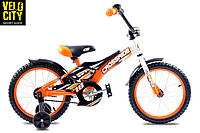 """Велосипед Crossride JET 16"""" оранжевый"""