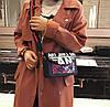 Модная женская сумка клатч Art с красочным поясом, фото 5