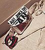 Модная женская сумка клатч Art с красочным поясом, фото 3