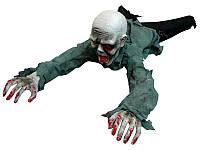 Ползающий Зомби - декорация для Хэллоуина