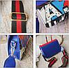 Модная сумка клатчс красочным дизайном и поясом Art , фото 2