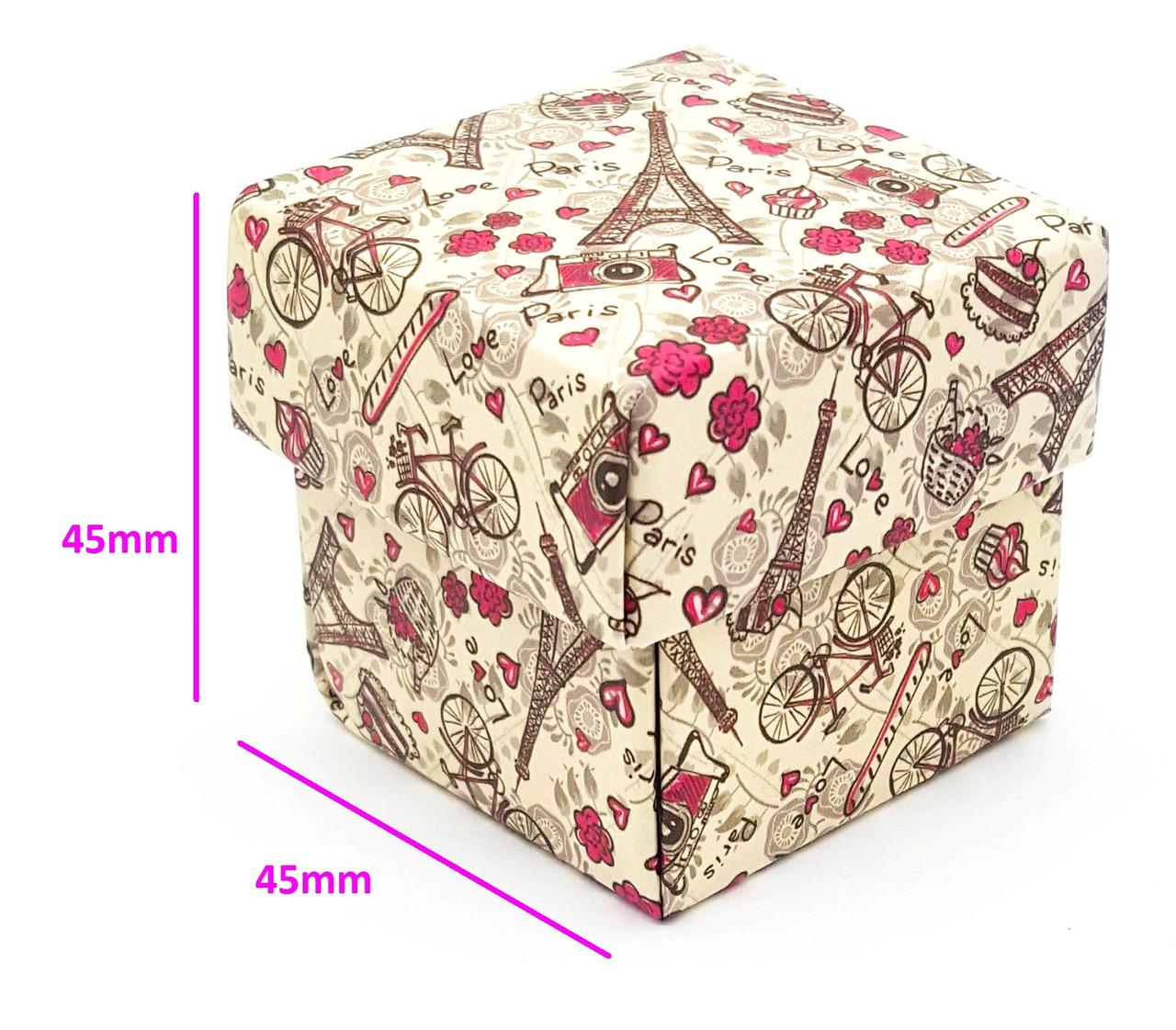 Универсальная Подарочная коробка для бижутерии, Paris