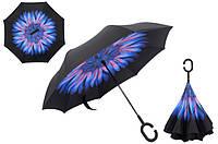 Зонт наоборот up-brella. Антизонт обратного сложения