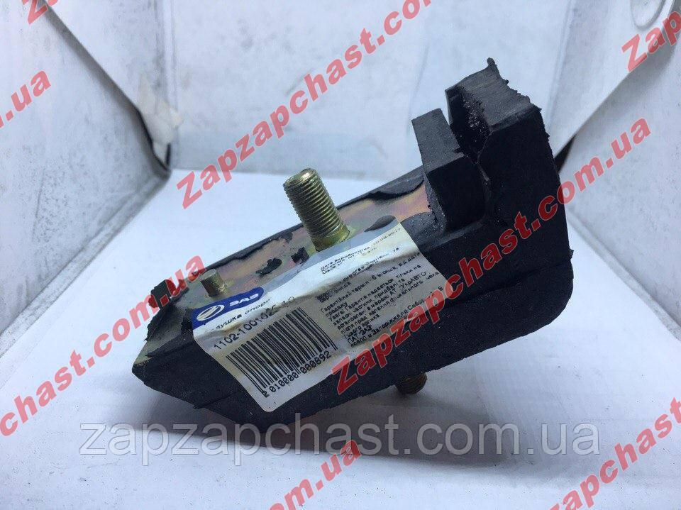 Подушка двигуна нижня квадратна заз 1102 1103 таврія славута завод АвтоЗаз