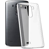 Силикон ультратонкий (0,33мм) LG G3 (Clear)