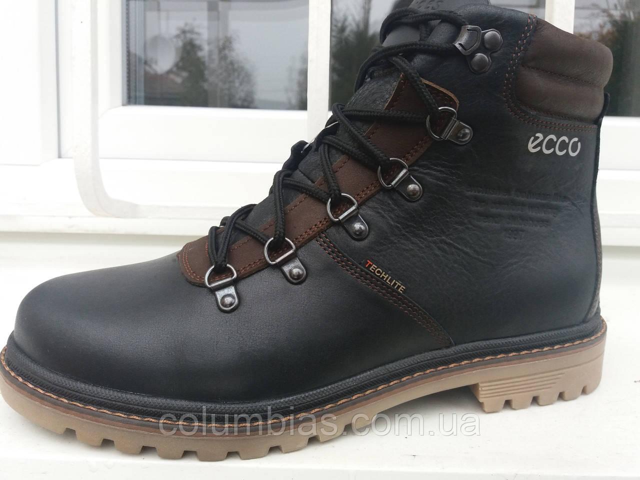 Ботинки ecco зимние кожаные - ВЕСЬ ТОВАР В НАЛИЧИИ. ЗВОНИТЕ В ЛЮБОЕ ВРЕМЯ !  в 4fc8f1e1ab173