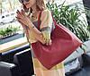 Оригинальный набор женских сумок для модных девушек 4в1 Сумка-баула, клатч, сумочка, визитница, фото 5
