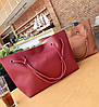 Оригинальный набор женских сумок для модных девушек 4в1 Сумка-баула, клатч, сумочка, визитница, фото 6
