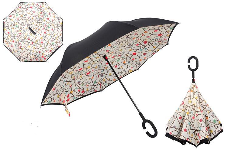 Зонт наоборот up-brella