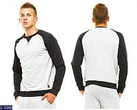 Спортивный костюм мужской светло-серый . Арт-13057