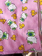Детская байковая хлопковая пеленка 80*100см